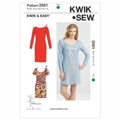 Kleid, KwikSew 3561 | XS - XL