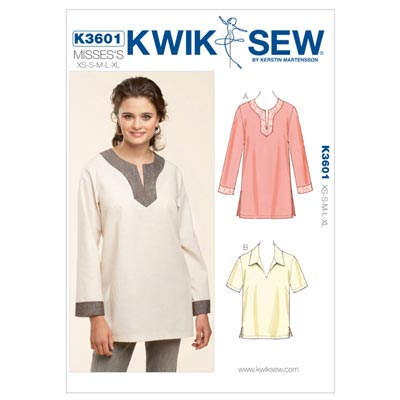 Shirt, KwikSew 3601 | XS - XL