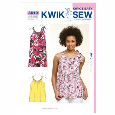 Top | Kleid, KwikSew 3610 | XS - XL