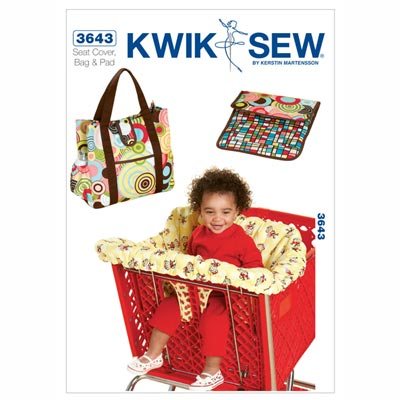 Babyzubehör: Sitzbezug& Windeltasche… KwikSew 3643