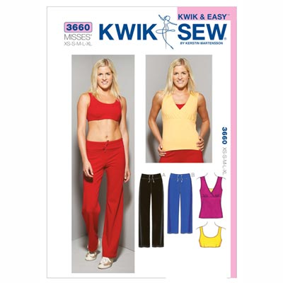 Top | BH | Hose, KwikSew 3660 | XS - XL