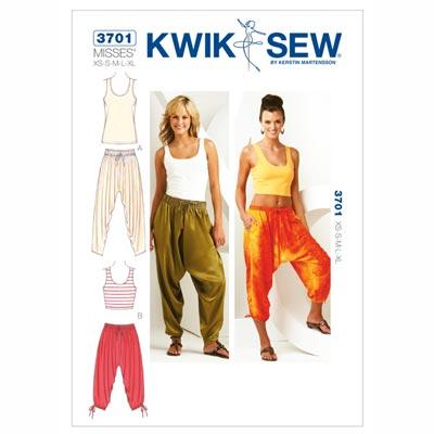Hose | Shirt, KwikSew 3701 | XS - XL