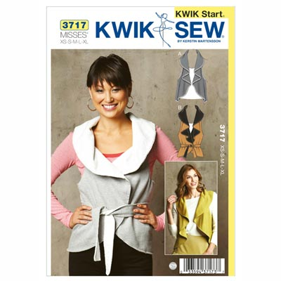 Kwik Start Weste, KwikSew 3717 | XS - XL