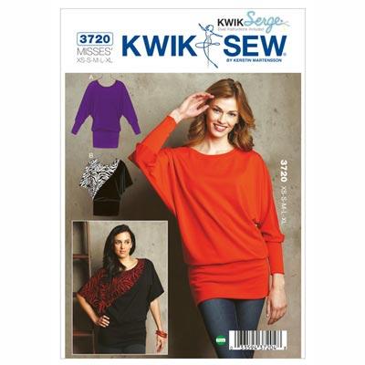 Pullover, KwikSew 3720 | XS - XL