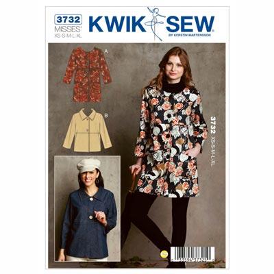 Jacke, KwikSew 3732 | XS - XL