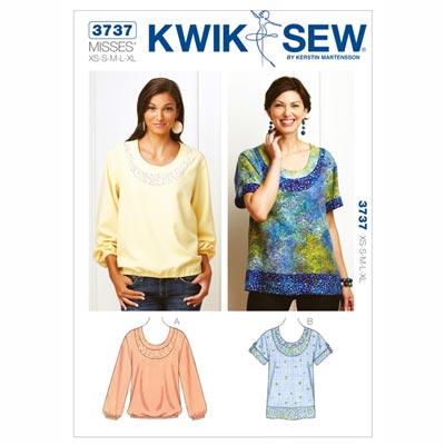 Shirt, KwikSew 3737 | XS - XL