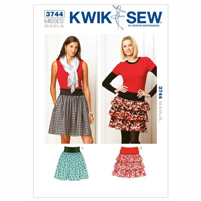 Rock, KwikSew 3744 | XS - XL