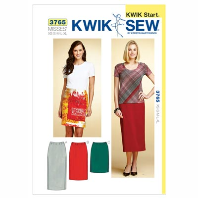 Rock, KwikSew 3765 | XS - XL