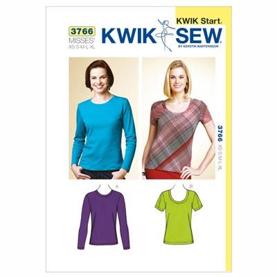 Top | lang | kurz, KwikSew 3766 | XS - XL