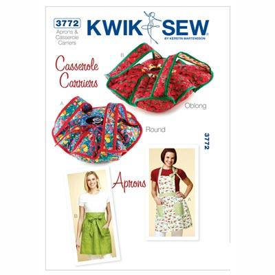 Schürze, KwikSew 3772 | S - L