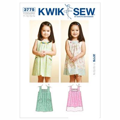 Kinderkleid, KwikSew 3775 | 80 - 104