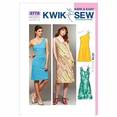 Kleider, KwikSew 3778 | XS - XL