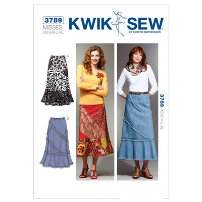 Rock, KwikSew 3789 | XS - XL