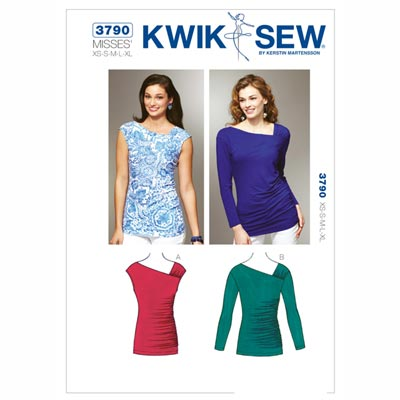 Top, KwikSew 3790 | XS - XL