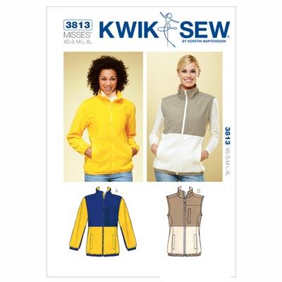 Jacke | Weste, KwikSew 3813 | XS - XL