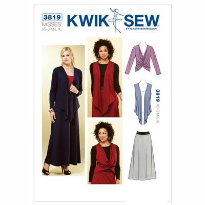 Rock | Jacke | Weste, KwikSew 3819 | XS - XL