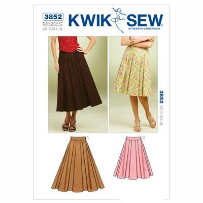 Röcke, KwikSew 3852 | XS - XL