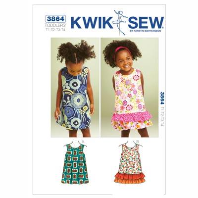 Kinderkleidchen, KwikSew 3864 | 80 - 104