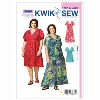 Plus Size – Kleider, KwikSew 3868 | XL - 4XL