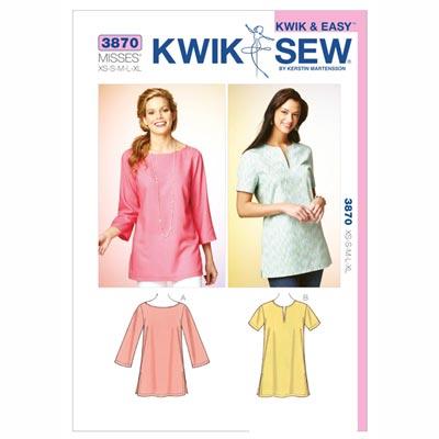 Tuniken, KwikSew 3870 | XS - XL