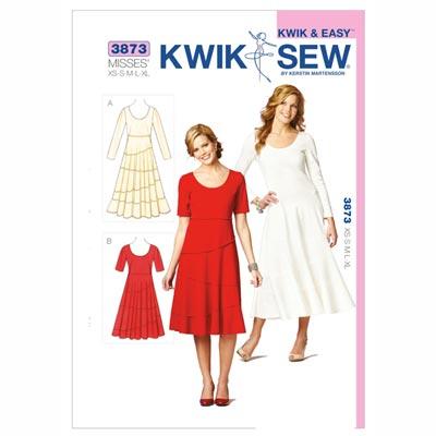 Kleider, KwikSew 3873 | XS - XL