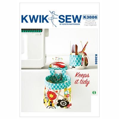 Beutel/ Nadelkissen/ Tassenorganizer, KwikSew 3886