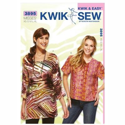 Bluse, KwikSew 3895 | XS - XL
