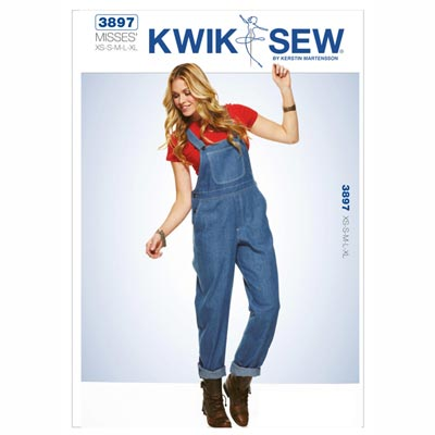 Overall, KwikSew 3897 | XS - XL