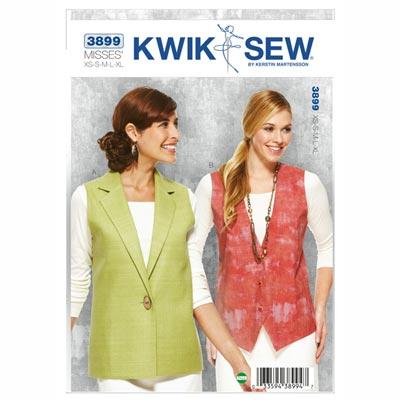 Weste, KwikSew 3899 | XS - XL