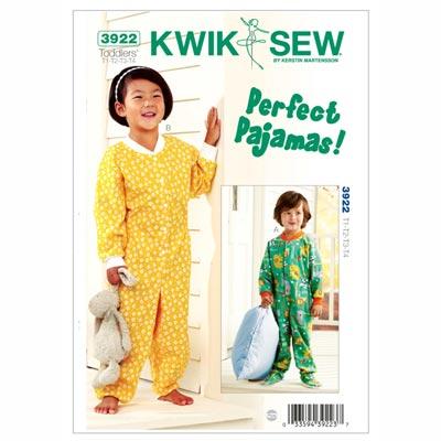 Pyjama für Kinder, KwikSew 3922 | 80 - 104