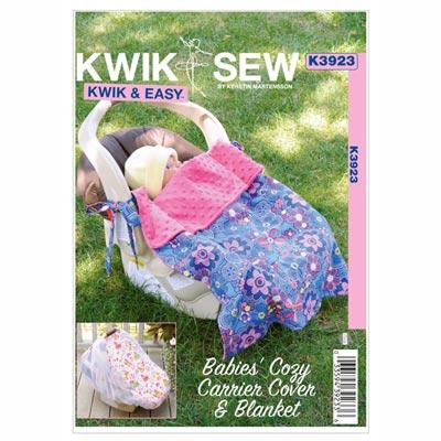 Baby Accessoires, KwikSew 3923