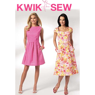 Kleid, KwikSew 3929 | XS - XL