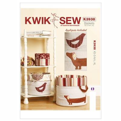 Stoffkörbe, KwikSew 3938
