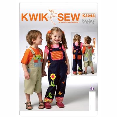 Kinderlatzhosen, KwikSew 3948 | 80 - 104