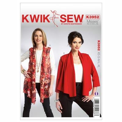 Weste | Jacke, KwikSew 3952 | XS - XL