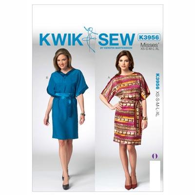 Tunika, KwikSew 3956 | XS - XL