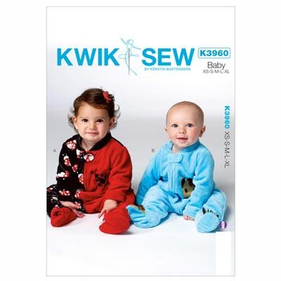 Babystrampler, KwikSew 131 | 56 - 80