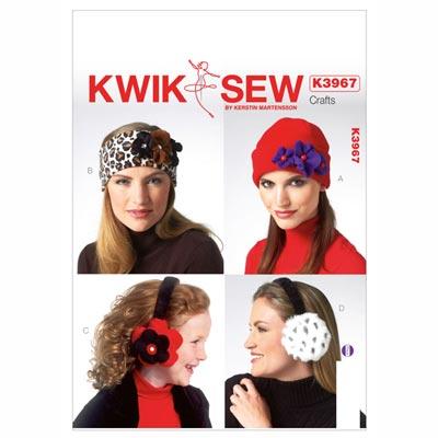 Mützen | Stirnband | Ohrschützer, KwikSew 3967 | 110 - 152
