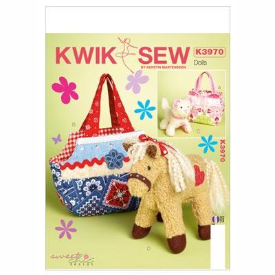 Taschen / Kuscheltiere, KwikSew 3970