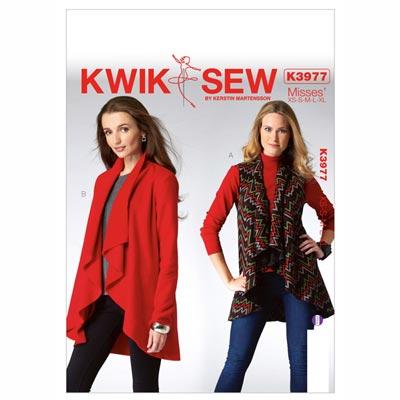 Weste | Jacke, KwikSew 3977 | XS - XL