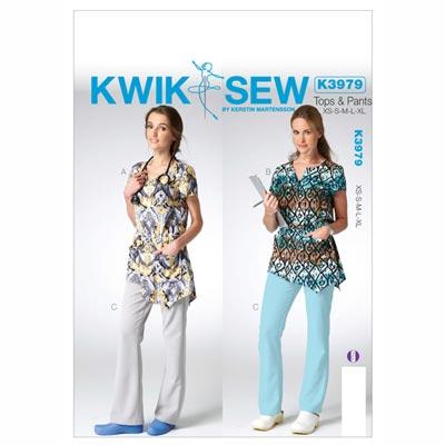 Top | Hose, KwikSew 3979 | XS - XL