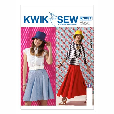 Rock | Hut, KwikSew 3987 | XS - XL
