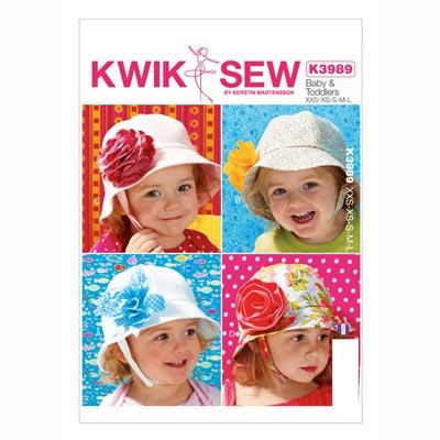 Baby- und Kinderhütchen, KwikSew 3989 | 98 - 140