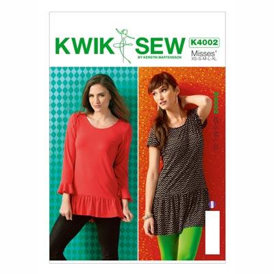 Tunika, KwikSew 4002 | XS - XL