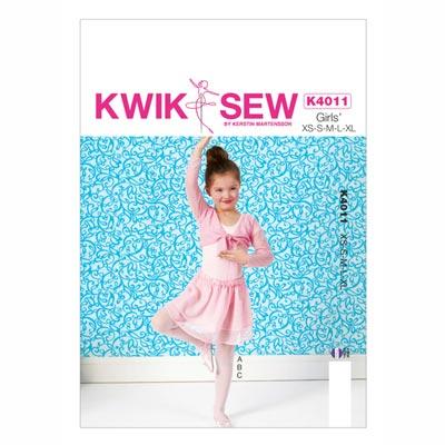 Ballerina Kleid, KwikSew 4011 | 104 - 152
