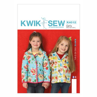 Kinderjacke, KwikSew 4012 | 98 - 140