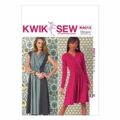 Raffkleid, KwikSew 4013 | XS - XL