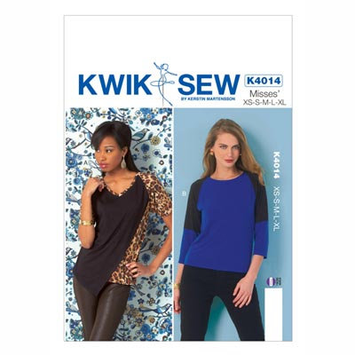 Shirt, KwikSew 4014 | XS - XL
