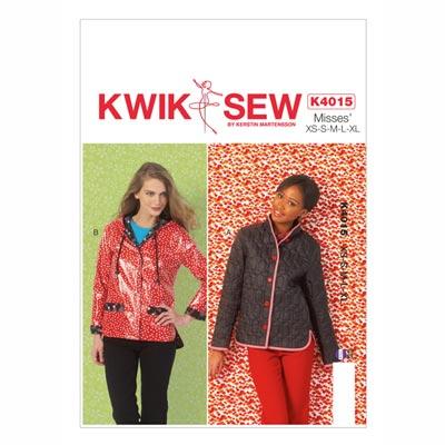 Jacke, KwikSew 4015 | XS - XL