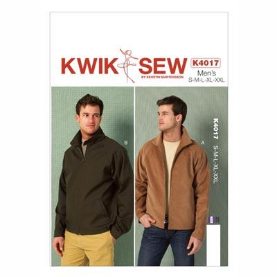 Herrenjacke, KwikSew 4017 | S - XXL